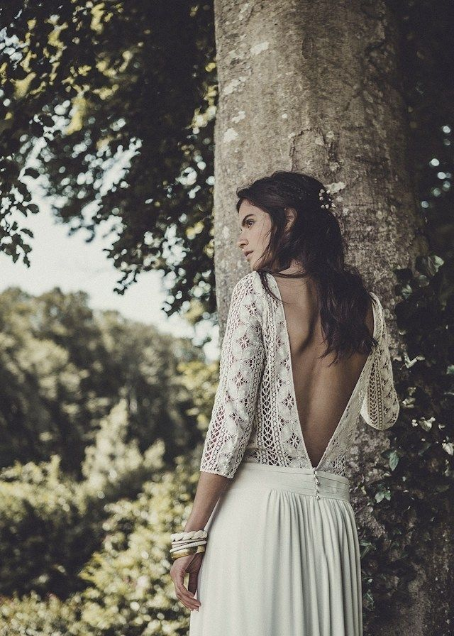 Laure de Sagazan robe de mariée collection Palma 2015 à Maria Luisa Mari …