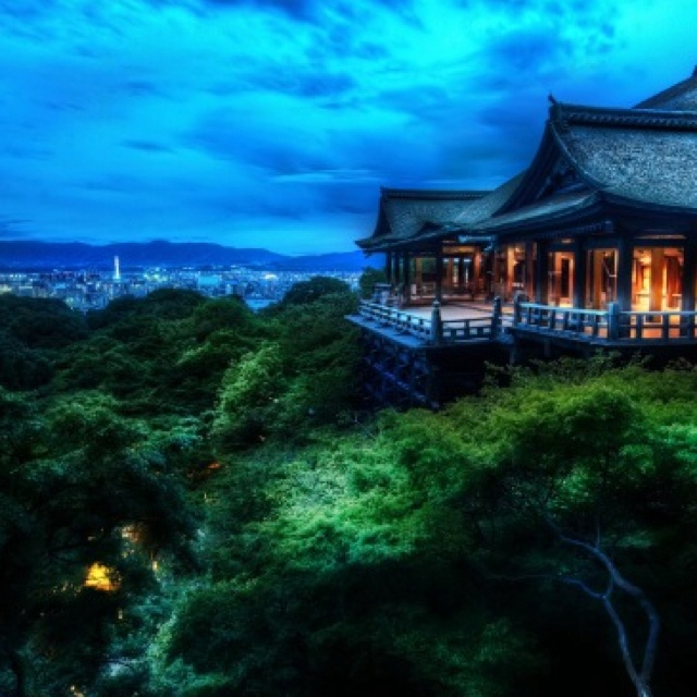 japanese most popular temple , 'kiyomizu-dera'
