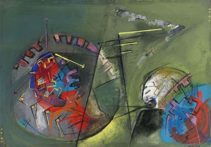 """Borderline, 1989, dalla serie """"Surreale"""", Guglielmo Spotorno - Irma Bianchi Comunicazione"""