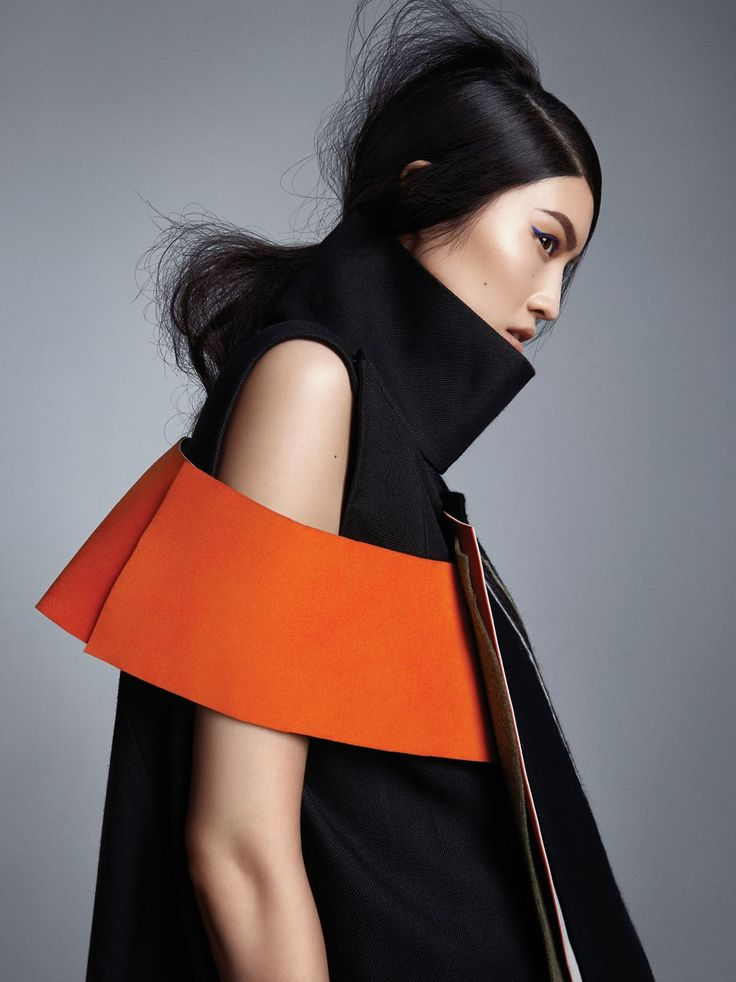 "stormtrooperfashion:  Sui He ""Future Forms"" by Trunk Xu for Vogue China, September 2014"