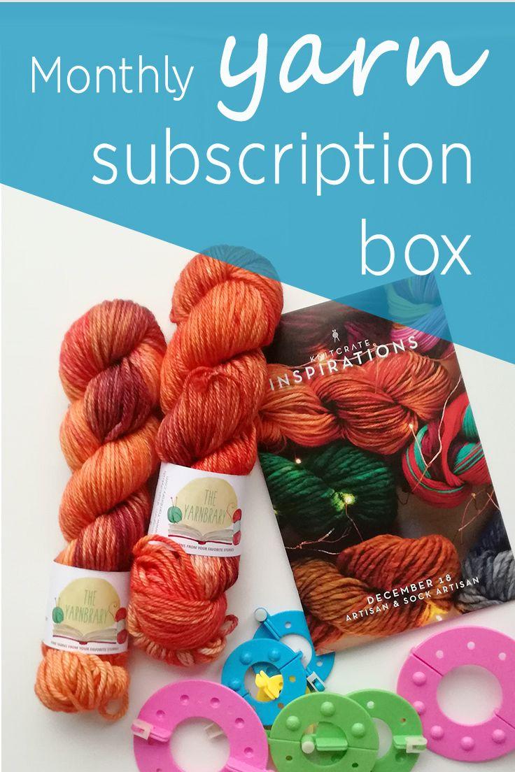 Yarn Subscription Box Buy Yarn Online Yarn Subscriptions Yarn Online