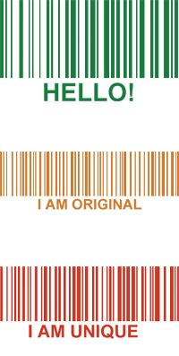 Free Fun with Barcodes @ Simply Barcodes. See your name as a barcode image. Free download and information.::Simply Barcodes
