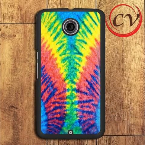Tie Dye Multi Color Cut Spiral Nexus 5,Nexus 6,Nexus 7 Case