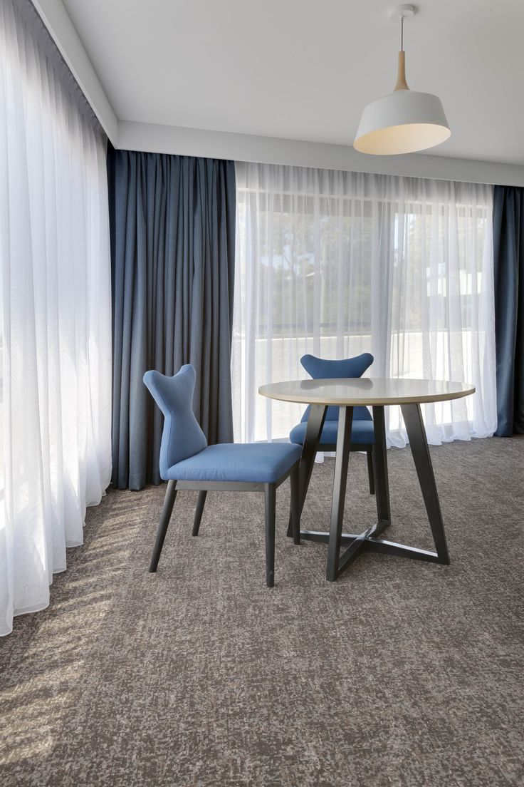 Uniting passion and design, the hospitality refurbishment specialists, Carmody Group, have given the Esplanade Hotel a stunning transformation. Project: Esplanade Hotel Batemans Bay, NSW Product: Custom Godfrey Hirst Carpet Designers: Carmody Group Photographer: Red Zebra Photography
