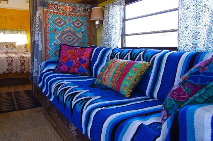 Check out this awesome listing on Airbnb: Colorful Baja camper/mountain view in Bridgeport