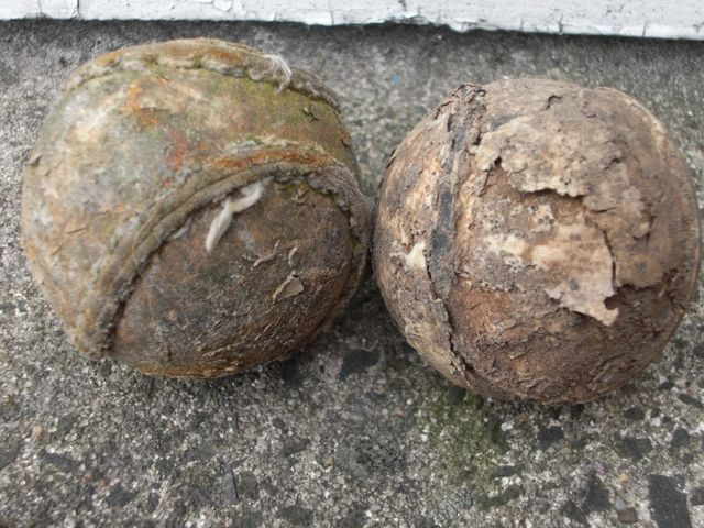 Antique / Ancient Sliotars - Hurling Balls - Cú Chulainn