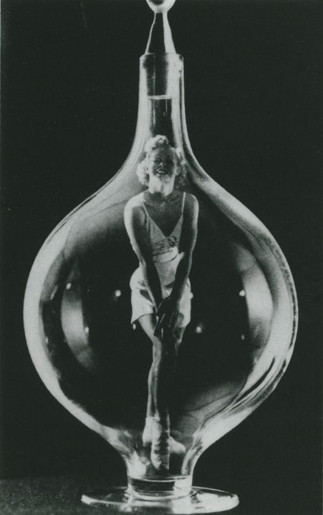 Man Ray my comment jeanie in a bottle