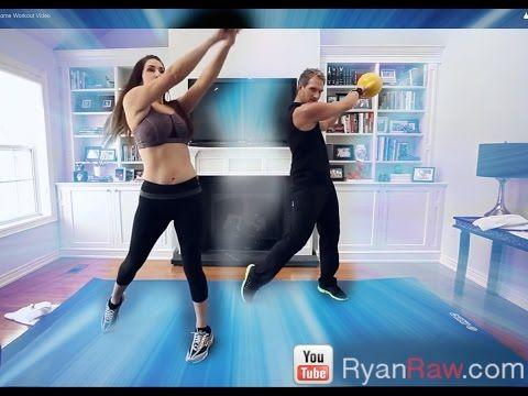 Advanced Kettlebell Full Body Blast Home Workout Video - YouTube