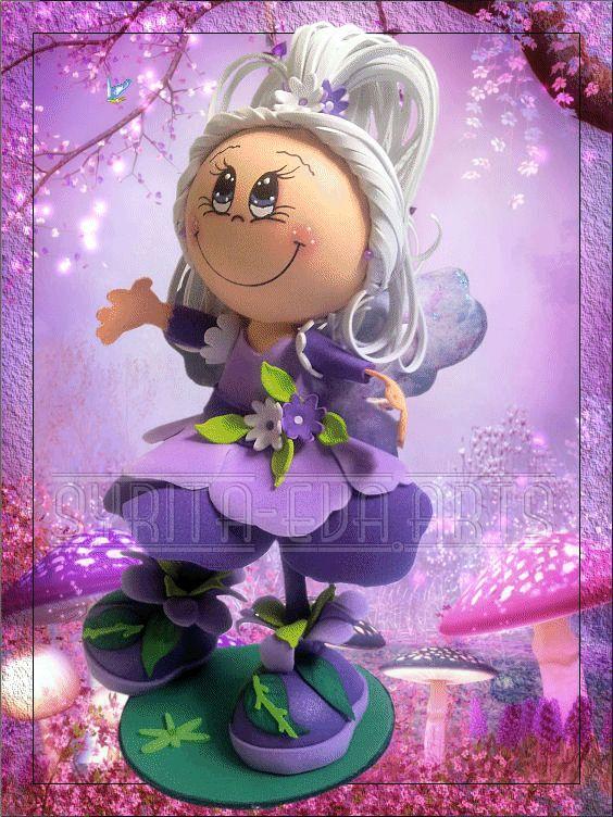 fun foam doll fairy (photo)