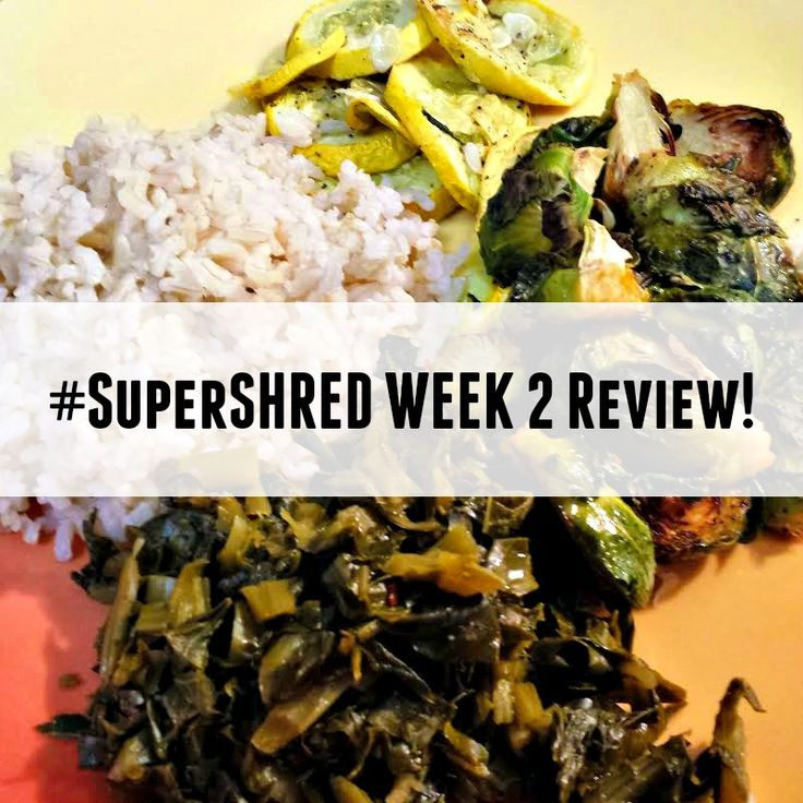super shred meal plan pdf