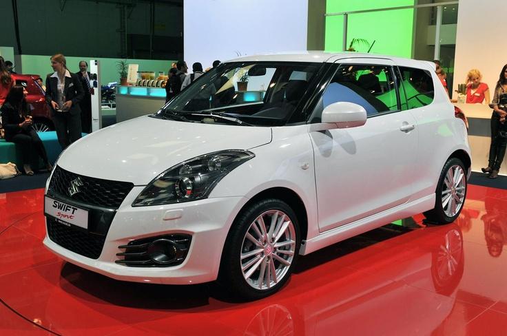 Крошечный Suzuki Swift Sport 2012-го модельного года