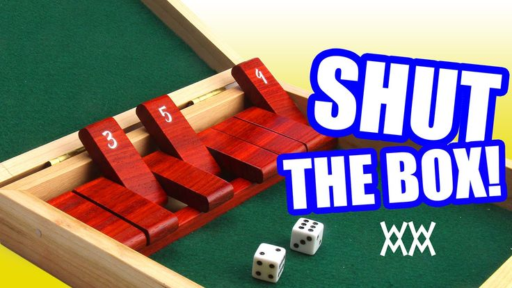 Make a wood shutthebox game woodworking plans free