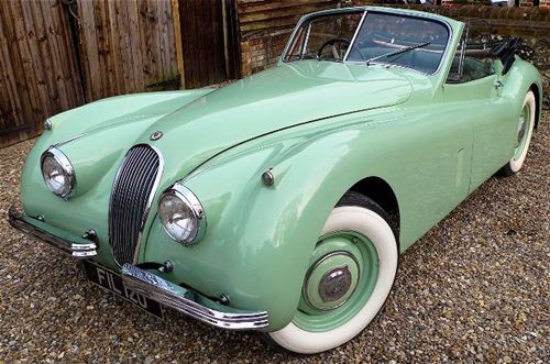 1954 Jaguar XK120 Drophead Coupé  #RePin by AT Social Media Marketing - Pinterest Marketing Specialists ATSocialMedia.co.uk