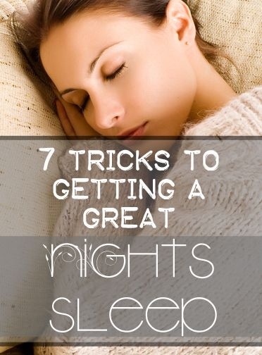 Haven't been getting the kind of zzzzz's you'd like? Sleeping is an important aspect of a healthy life, not just a convenience! So take a look at these great tips to get better sleep: 1. The magic ...