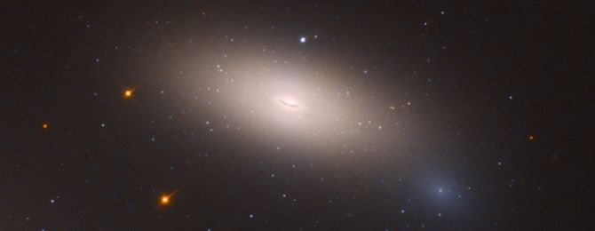 Arrested Development: Hubble Finds Relic Galaxy Close to Home   Ghostly-Looking Galaxy Stopped Making Stars Long Ago  The adventuring cinema archeologist Indiana Jones would be delighted to find a long-sought relic in his own backyard. Astronomers have gotten lucky enough to achieve such a quest. They identified a very rare and odd assemblage of stars that has remained essentially unchanged for the past 10 billion years. The diffuse stellar island provides valuable new insights into the…
