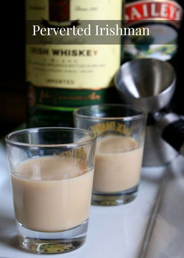 Perverted Irishman whiskey shot recipe is a combination of Bailey's and Jameson that is sweet and delicious. Restlesschipotle.com