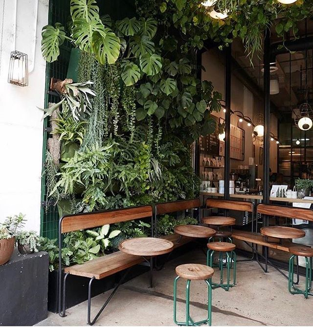 Excellent Spot To Let Your Ideas Grow Cafe Interior Design Coffee Shops Interior Cafe Decor