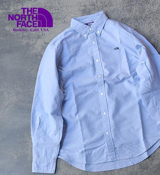 THE NORTH FACE PURPLE LABEL ノースフェイスパープルレーベル Cotton Polyester OX B.D. Shirt Yosemite ヨセミテ 通販 販売