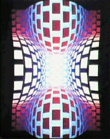 LANGO-II by Victor Vasarely