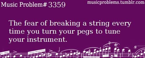 Yes! It freaks me out when I'm turning the peg and the string pops or crackles!