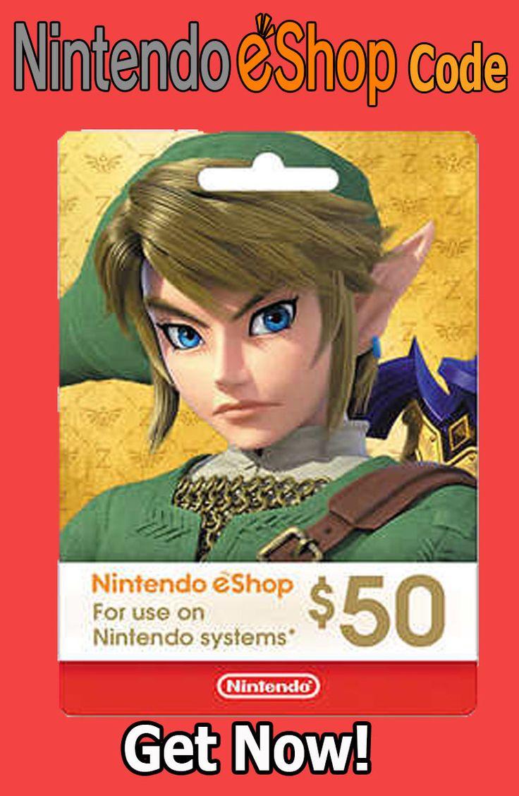 Get free 50 nintendo gift card code giveaway