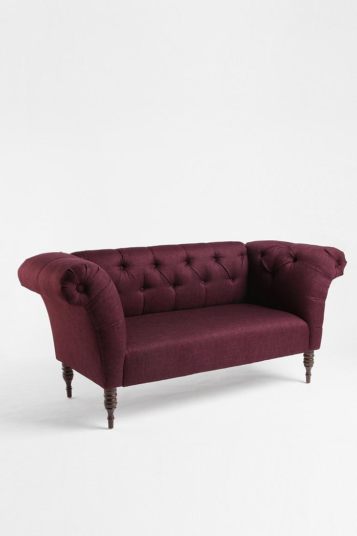 Love The Boldness Of This Couch Gramercy Sofa Aubergine Urbanoutfitters Future Home