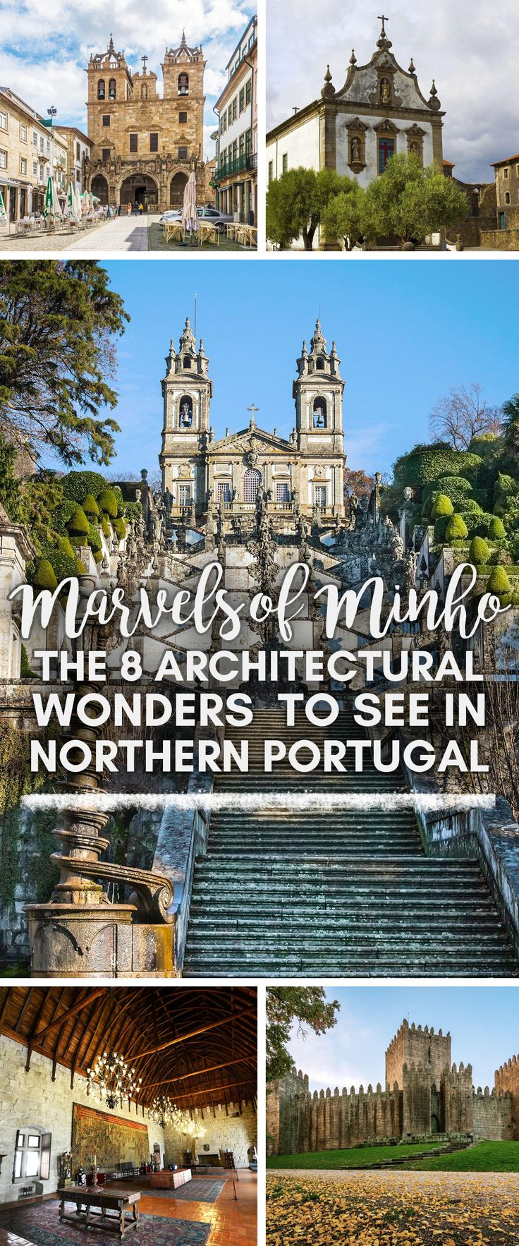 Emerald-green hills, brisk ocean winds, softly clanging cowbells—the sights and sounds of Portugal's Minho province may be a far cry from those of sunny Lisbon or the Algarve, but they're just as beguiling. #Minho #Portugal #architecture #historical #travel #wanderlust #bucketlist