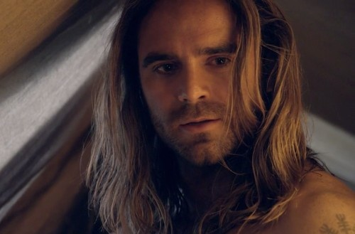 Gannicus and the beautiful hair