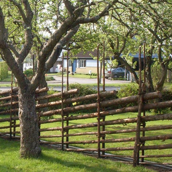 Gärdsgårdsmodell Jämtgård #gärdsgård #gärdsgårdar #staket #fence #woodfence