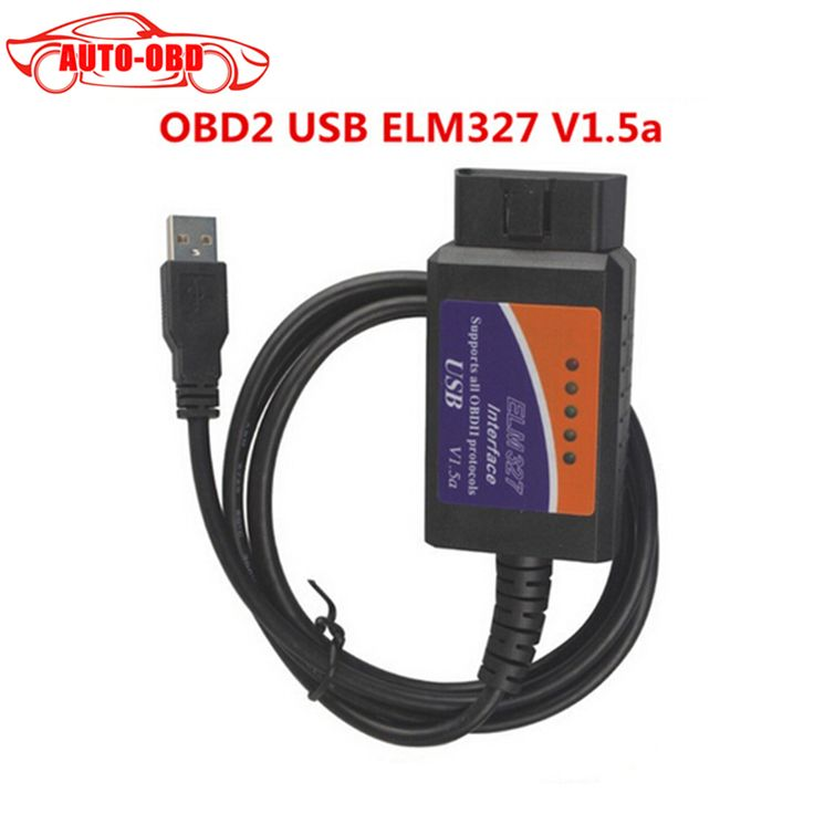 ELM327 ELM 327 V 1.5a USB OBD2 Diagnostic Interface tool elm 327 Auto Code Scanner OBDII elm327 V1.5 Supports All OBD2 Protocols ** Click the VISIT button to find out more