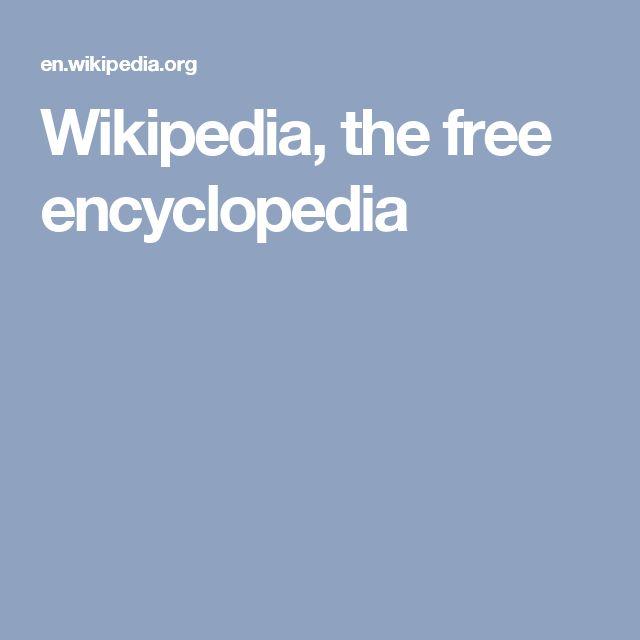 Wikipedia, the free encyclopedia