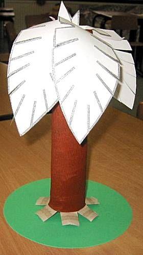 Matteüs 21 / Lucas 19:  Palmpasen - palmboom