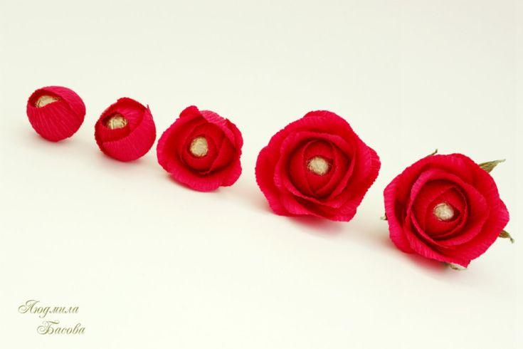 Gallery.ru / Фото #6 - МК розы - Luda-Mila