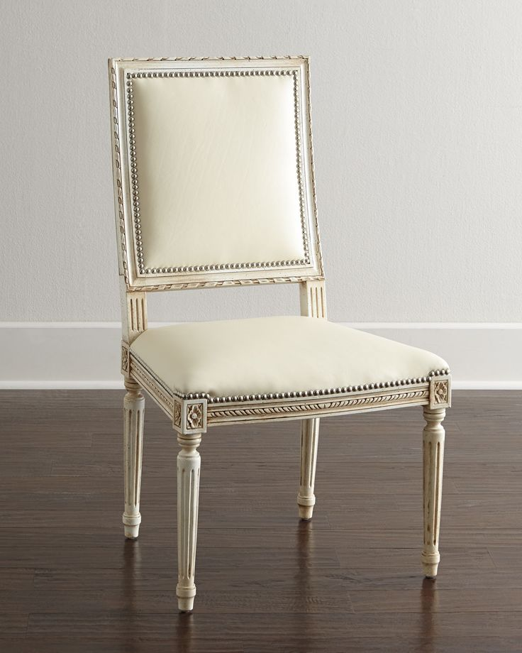 168 Best *chairs  Kitchen & Dining Room Chairs* Images On Enchanting Ivory Leather Dining Room Chairs Inspiration