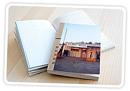 DIY Photo Journal. Made a few of these as gifts. Always a hit. Plus a great way to use all that random extra paper you have lying around. Be prepared to spend some time making it.