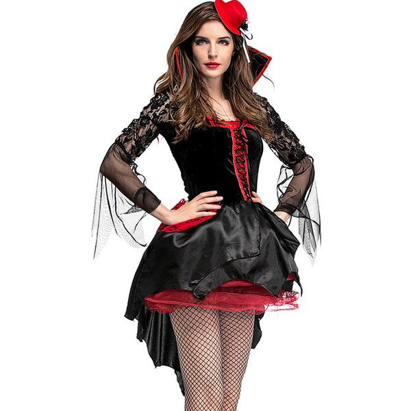 Womens Sexy Gothic Costumes For Adult Roleplay