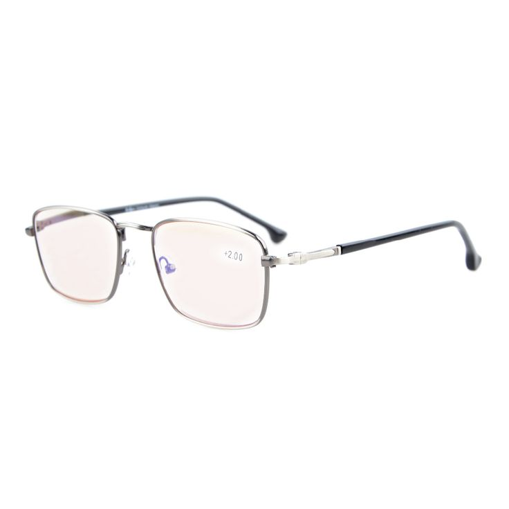 CG1618 Eyekepper Anti Glare Glasses Amber Tinted Lenses Computer Reading Glasses Quality Spring Hinges