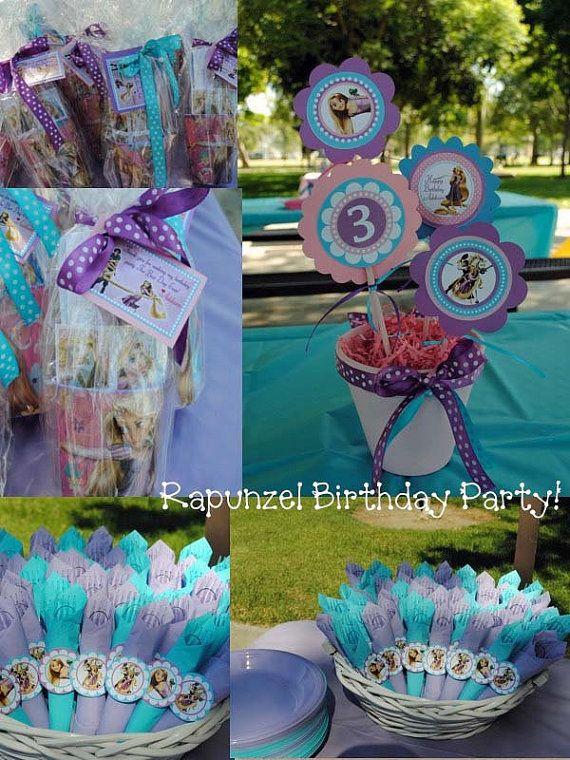 Girls+Custom+Tangled+Birthday+Invitations+by+thepartystork+on+Etsy,+$11.00