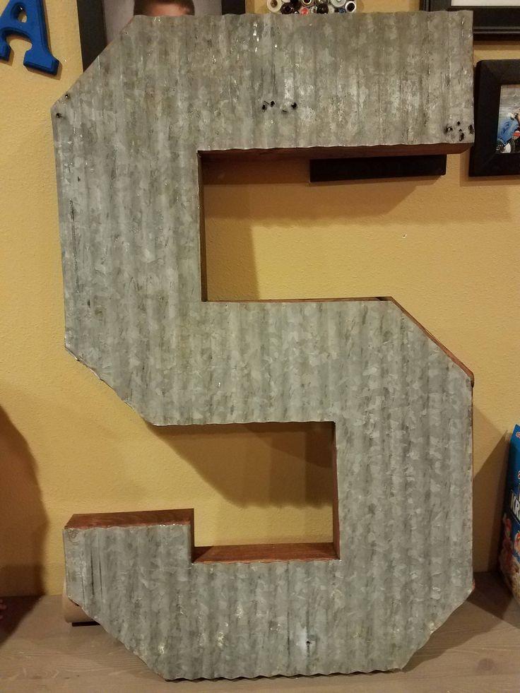 best 25+ large metal letters ideas on pinterest   wagon wheel