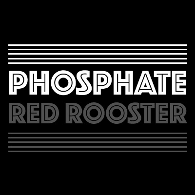 Phosphate - A font from Red Rooster