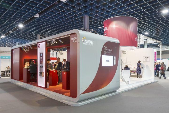 Nestlé Professional Stand at Zorgtotaal 2015, Utrecht – Netherlands » Retail Design Blog