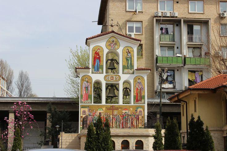A little religious monument, Bucharest