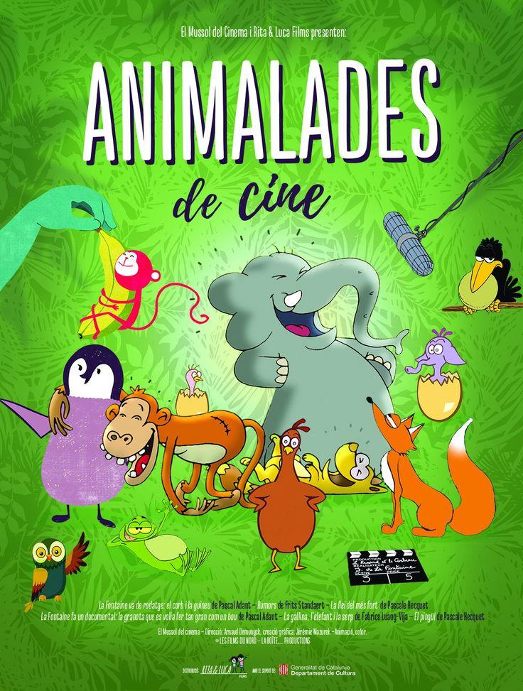 #EstrenesJCACINEMES #AnimaladesDeCine Adaptació delirant de fabules populars portades a la gran pantalla amb sentit d'humor i enginy. Petites històries universals que conserven el caràcter educatiu original i afegeixen creativitat i diversió. #Animació #Lleida #Alpicat
