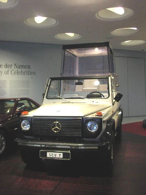 Mercedes Benz W460 Pope Mobile