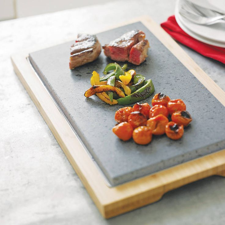 Unashamedly simple for those who like their steak cooked exactly as they like and piping hot right up to the last delicious bite.The Lava Stone used in all .