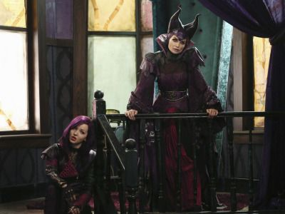 Now that's wicked! The upcoming Disney Channel Original Movie The Descendants starring Dove Cameron, Cameron Boyce, Sofia Carson, and Booboo...