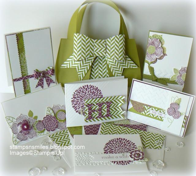 Razzleberry Purse Tutorial/Kit  stampsnsmiles.blogspot.com
