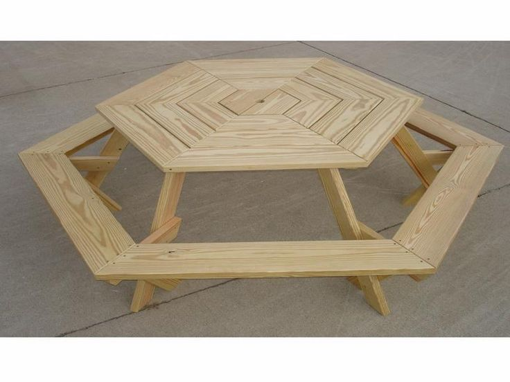 24 best images about creative tables on pinterest table for Octagon coffee table plans