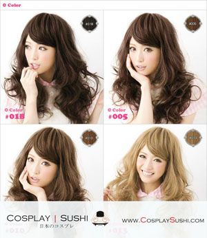 NEW MIN-JUNG 4 COLORS LONG HAIR WIGS <3 SHOP NOW: http://bit.ly/1A5jebK #longhair #cosplaywig #cosplay #wigs