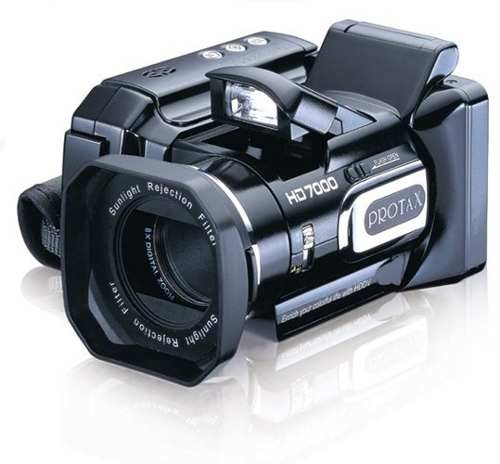 Filmadora Semi-profissional Protax Hd 720p 16mp